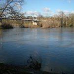 T La Loire et le Pont de fil